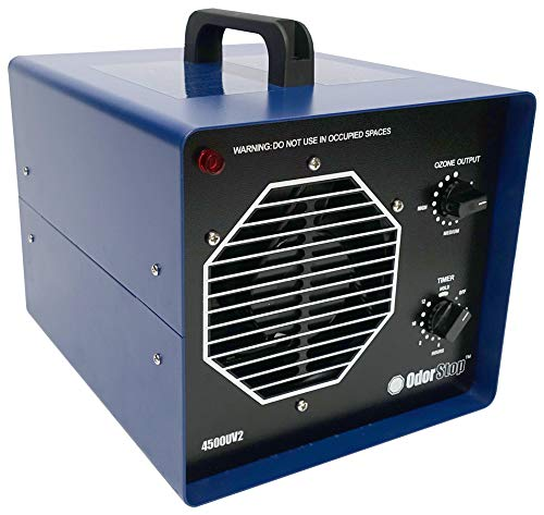 OdorStop Professional Grade Ozone Generator with UV (OS4500UV2)