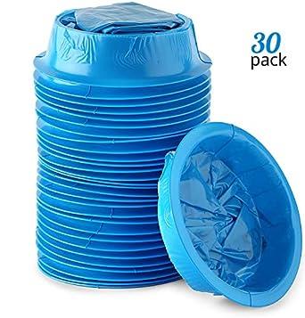Amazon.com: Juego de 30 bolsas de vómitos para coche, moción ...
