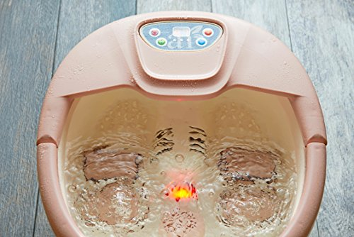 ArtNaturals Foot Spa Massager with Heat – Lights and Bubbles - Soothe and Relax Tired Feet with All in One Therapeutic Home Salon and Massager Tub - Temperature Control - for Athletes Foot by ArtNaturals (Image #3)
