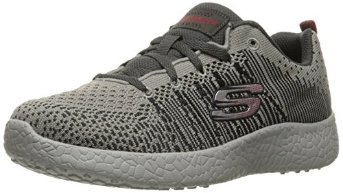 Skechers Boy's Burst-In the Mix Sneaker ,Little Kid (4-8 Years),Gray/Charcoal-12 M US Little Kid