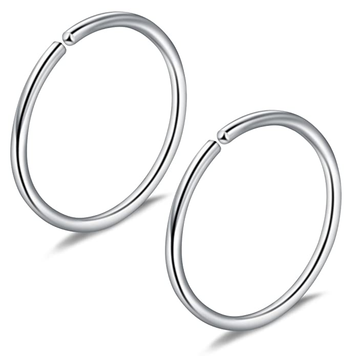 Jewelry Sets & More Trustful Jforyou 3prs Non Pierced Stainless Steel Clip On Closure Round Ring Fake Nose Lip Helix Cartilage Tragus Ear Hoop 20g