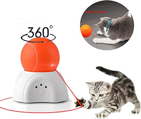 Nice Dream Juguete automático para Gato con luz LED, Juguete ...