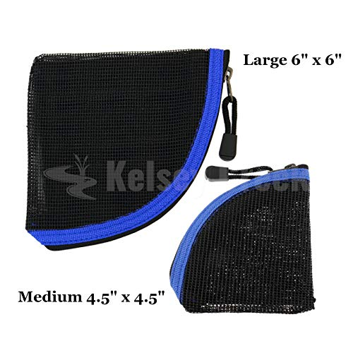 Meshed Leader Wallet for Fly-Fishing Tapered Leaders, Sink Tips, Shooting Heads ()