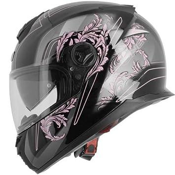 ASTONE casco integral GT800 Evo primavera rosa talla negro mate, talla XS