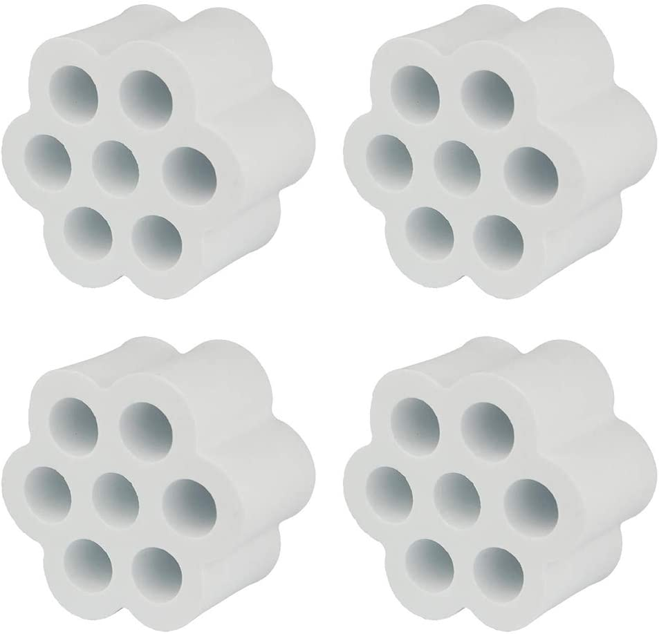 10pcs Cup Turner Spinner Foams Fit All Tumblers Bottles Cups with Mouth Opening Width from 1.5 to 4-PVC Pipe OD 1.05 Cup Turner Foam Inserts Set for 3//4 PVC Pipe