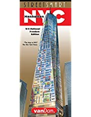 StreetSmart NYC Map by VanDam -- Laminated City Street Map of Manhattan, New York, in 9/11 National Memorial Edition - Folding pocket size city travel ... museums sights and hotels, 2019 Edition Map – March 15, 2019