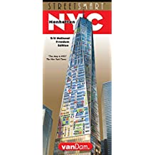 StreetSmart NYC Map by VanDam -- Laminated City Street Map of Manhattan, New York