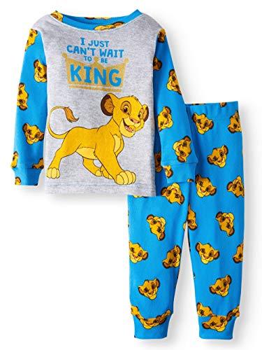 (Disney Lion Guard Kion I Just Can't Wait to be King 2 Piece Baby Boys Sleepwear Pajama Set 12)
