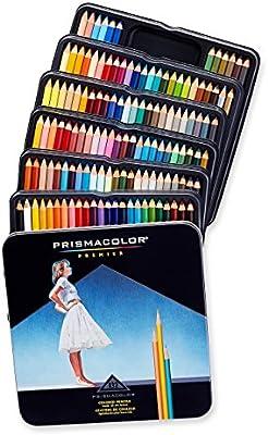 Prismacolor Premier - Pack de 132 lápices de colores, multicolor: Amazon.es: Oficina y papelería