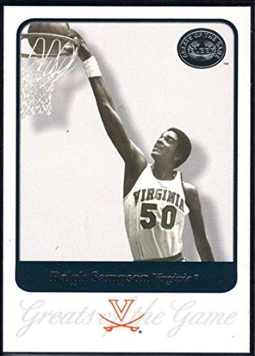 Basketball NBA 2001 Fleer Greats of the Game #64 Ralph Sampson