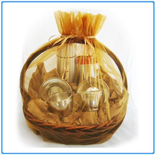 1pc Organza Sheer Gift Basket Bag Pouch 22