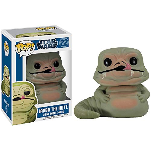 Funko Jabba The Hutt: Star Wars x POP! Vinyl Figure & 1 PET Plastic Graphical Protector Bundle [#022 / 02594 - B]