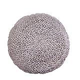 HYSEAS 3D Digital Print Comfort Throw Pillow for Home Decoration, White Futon