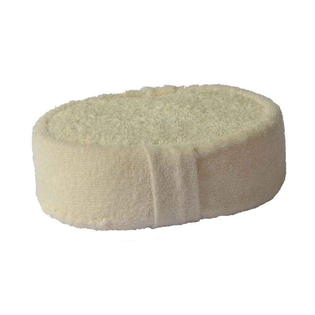 Lorjoy Natural Loofah spugna da bagno sfera doccia Rub per il corpo intero sano di massaggio Spazzola