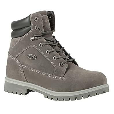 Amazon.com: Lugz Men's Tactic WR Work Boot,Charcoal/Alloy