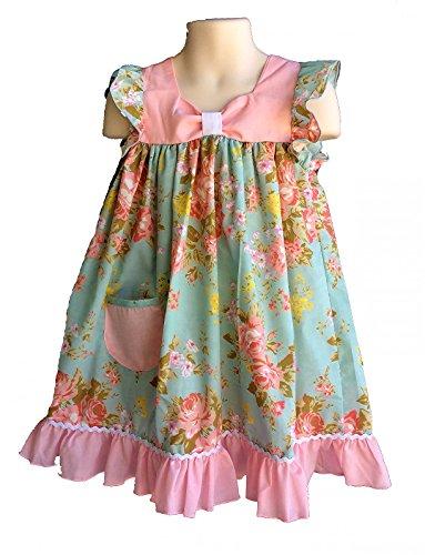 Price comparison product image Angel Sleeve Vintage Floral Dress (3T)