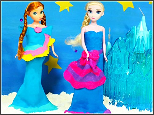 How To Make Play Doh Elsa Anna Dress