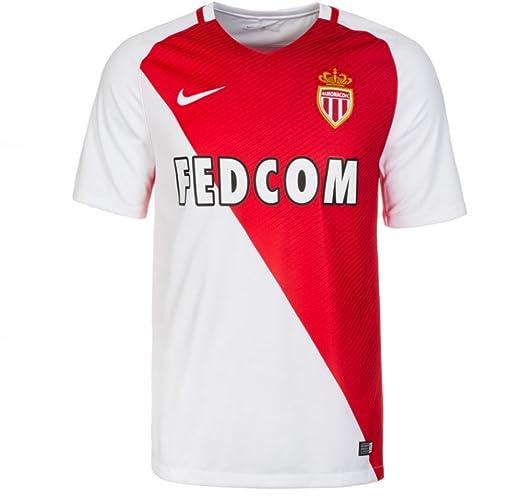 6decc825d16 Nike 2016-17 Monaco Home Football Soccer T-Shirt (Kylian Mbappe 29)   Amazon.co.uk  Sports   Outdoors