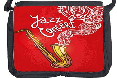 Borsa Tracolla Arredamento Cucina Concerto jazz Stampato
