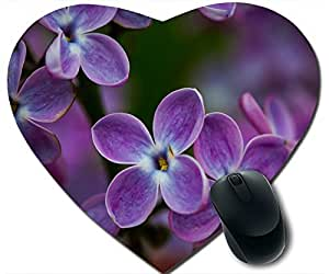 Lilac Blossoms Closeup Mouse Pad Desktop Mousepad Laptop Mousepads Comfortable Office Of Mouse Pad Mat Cute Gaming Mouse Pad