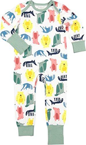 Polarn O. Pyret Rainbow Pals Eco Pajamas (Baby) - 6-12 (Jadeite Apparel)