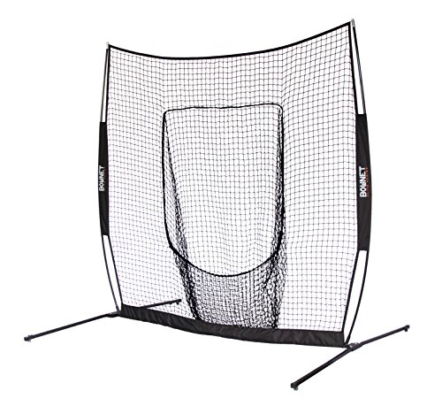 BowNet Big Mouth Elite Practice Net - Screen Collapsible Pitching