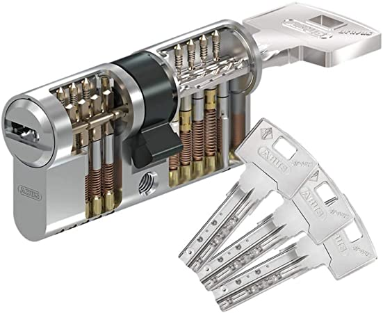 ABUS Bravus4000 Hochsicherheits-Schließzylinder Doppelzylinder 30//80mm