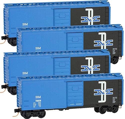 Micro-Trains MTL N-Scale 40ft SD Box Cars Boston & Maine/...