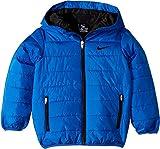 Nike Kids Boy's Quilted Jacket (Little Kids) Game Royal/Black 4 US Little Kid