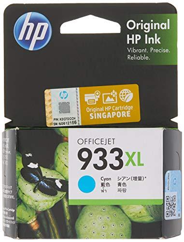 HP 933XL High Yield Cyan Original Ink Cartridge