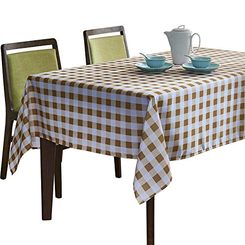 YEMYHOM Modern Printed Spill Proof Cloth Rectangle Tablecloth (60 x 84