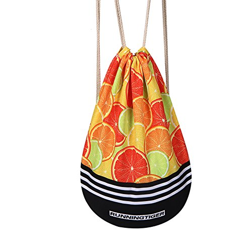 Mery Wa Unisex Oranges Patterns Print Drawstring Backpack Daypacks 17x14 - Alcantara Of Order