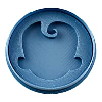 Cuticute Boss Baby Logo 2 Cookie Cutter, Blue