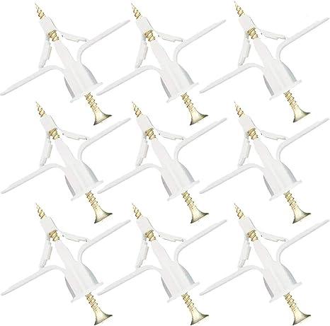 Imagen deAnclaje de Columna de Tubo de Expansión de Plástico 50pcs, Para Aeronaves Cortina de Pared Hueca Placa de Yeso Tornillo de Expansión Tornillo de Anclaje