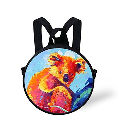 Cute Crossbody Round Round V6lc501i Bag Print Bag FunnyPrint 7dSfqw7