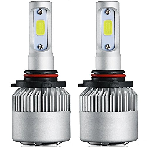 9005 LED Headlight Bulbs, 72W 8000LM 12V 6500K COB Headlight Bulbs, 9005 9006