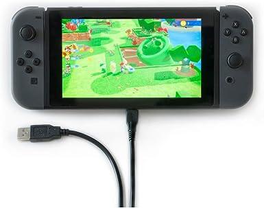 Nintendo Switch Cable de carga rápida, cable USB C, cable de 1,5 m ...