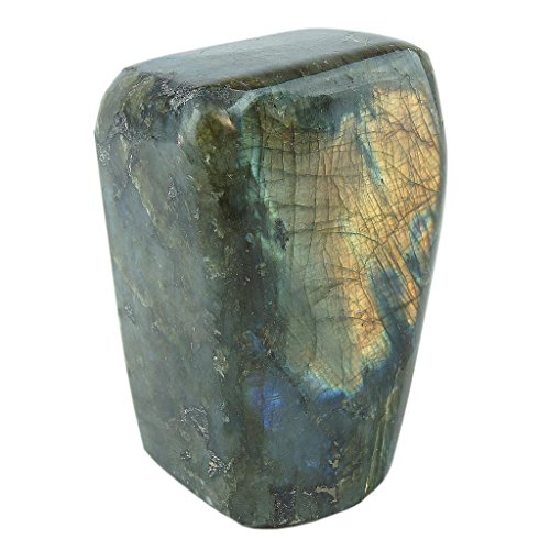 Class 1 Labradorite Polished Crystal 16-20 Oz. By JIC Gem