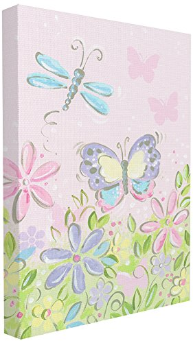 The Kids Room by Stupell Pastel Butterfly and Dragonfly Wall