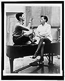 Photo: Richard Avedon,1923-2004,Judy Garland,1922-1969,sitting on a piano,rehearsal