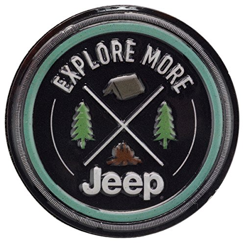 Jeep Magnets - Open Road Brands Jeep Explore More Embossed Metal Magnet