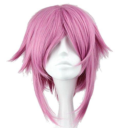 [Xcoser SAO Shinozaki Rika Lisbeth Cosplay Costume Wig 40cm for Halloween] (Lisbeth Sao Costume)