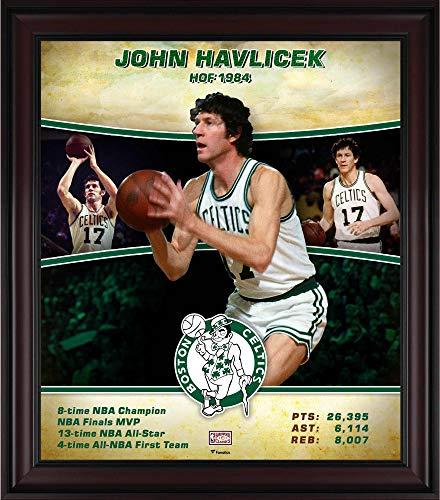 John Havlicek Boston Celtics Framed 15