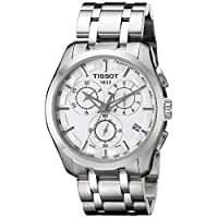 Tissot Men's 'Couturier' White Dial Stainless Steel Watch T035.617.11.031.00