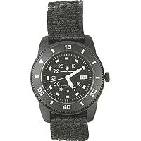 Reloj SWW-5982 Commando con correa de nylon negro para hombre de Smith & Wesson