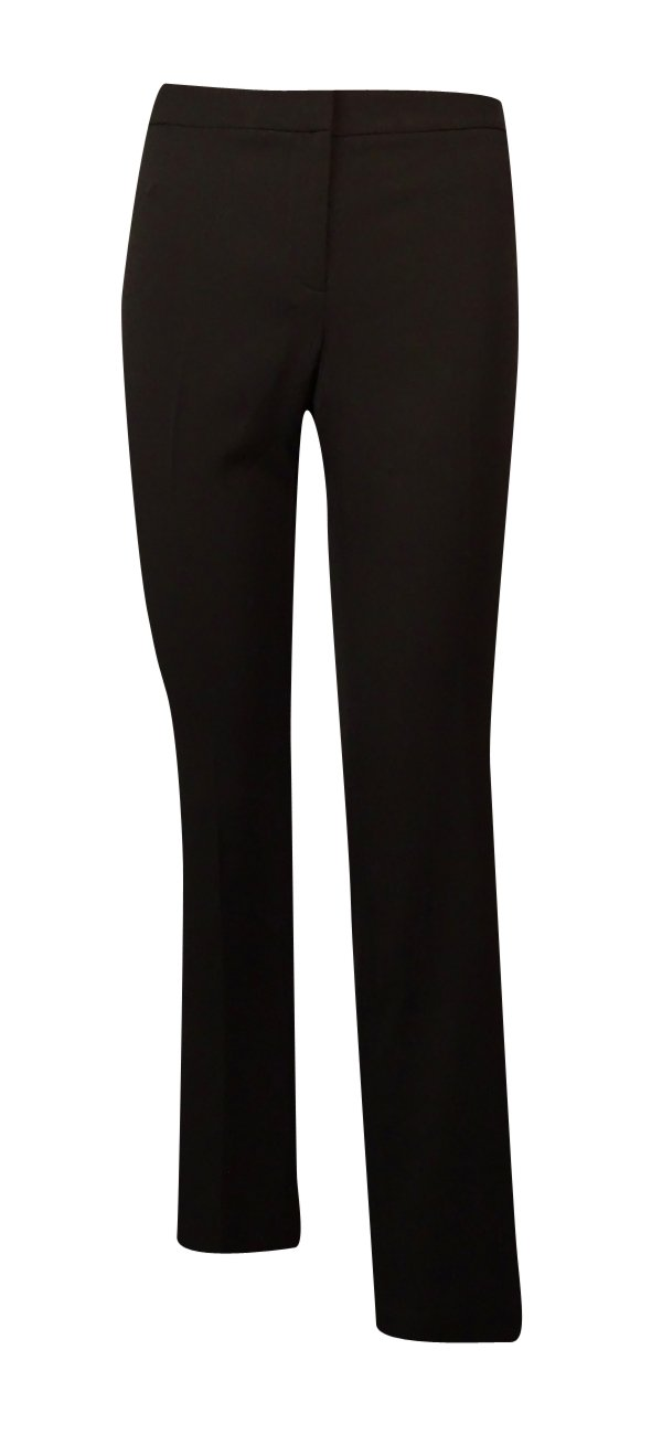 Calvin Klein Women's Straight Leg Dress Pants (10P, Black)
