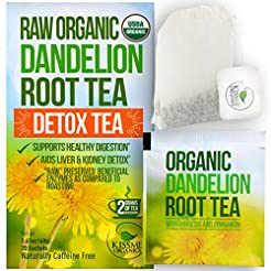 Dandelion Root Tea Detox Tea - Raw Organ...
