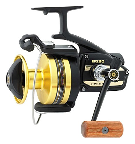 Daiwa Black Gold (BG) Saltwater 4.3:1 Heavy Action Spinning Fishing Reel – BG90
