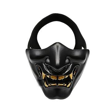 VORCOOL Halbe Gesichtsmaske Unteren Gesichtsschutzmaske für Airsoft ...
