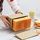 DOYOLLA Pullman Loaf Pan with lid, Non-stick Bread